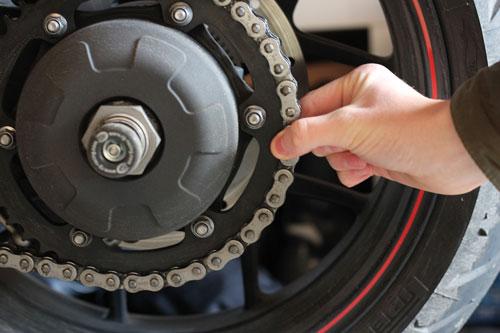 Motorcycle-sprocket-check